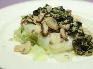 蕈菇千層白菜-作法-2