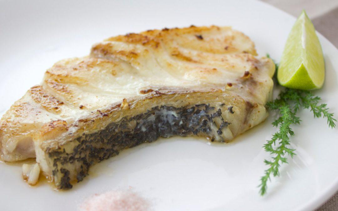 龍膽石斑料理-15 分鐘上菜, 香煎龍膽石斑魚排