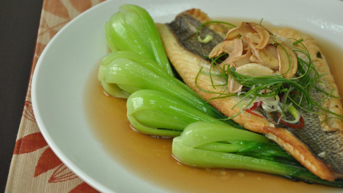 煎-金目鱸魚食譜-料理