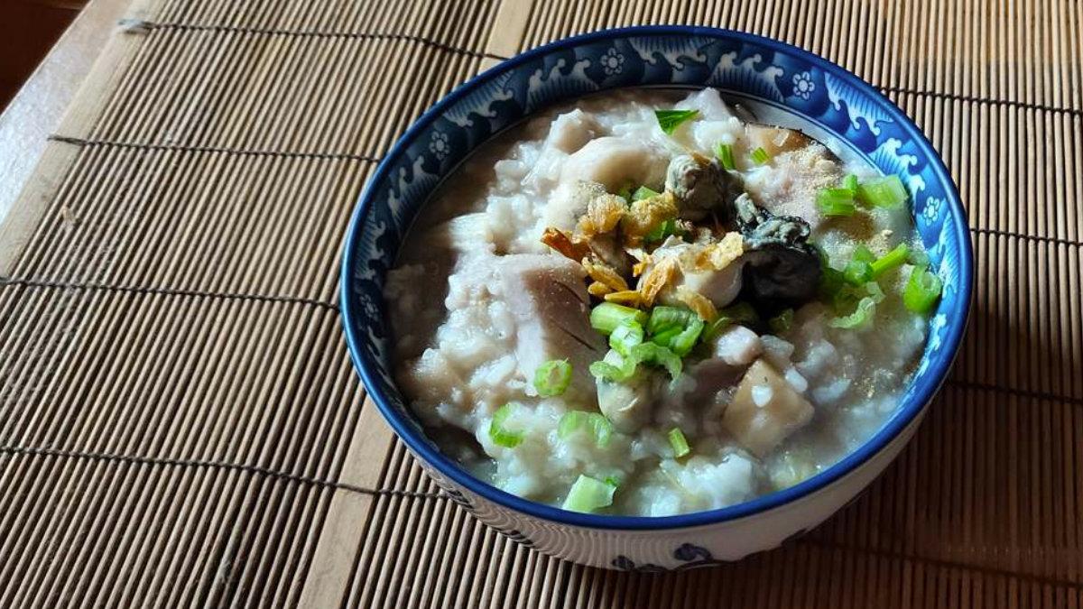 芋頭粥-芋頭鮮蚵粥-食譜-大甲芋頭