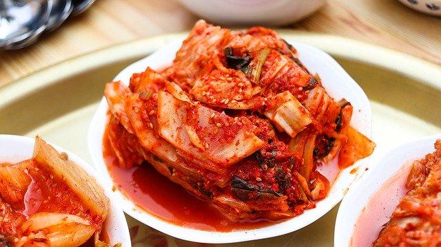 kimchi-韓式泡菜-發酵食物-大白菜