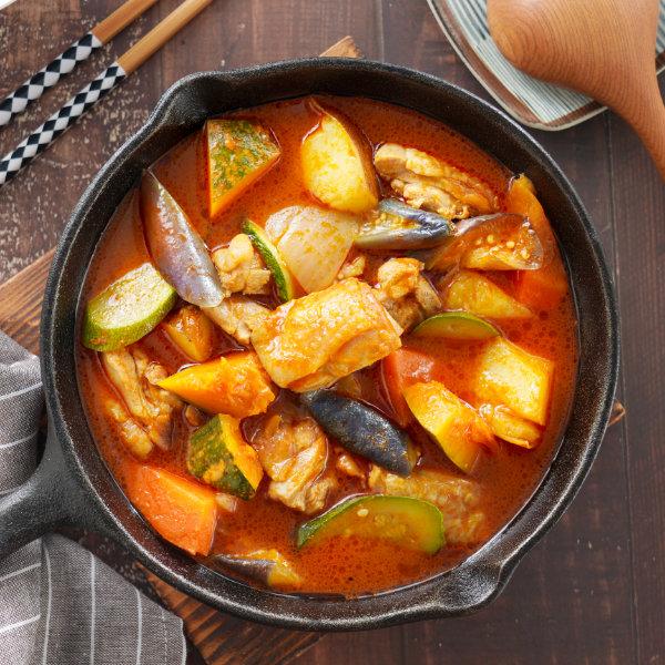 咖哩料理-湯咖哩