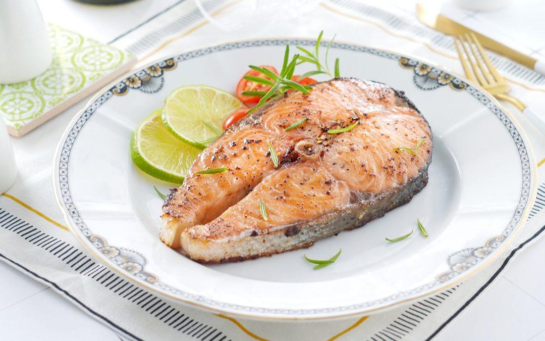 鮭魚料理 橄欖油香煎挪威鮭魚