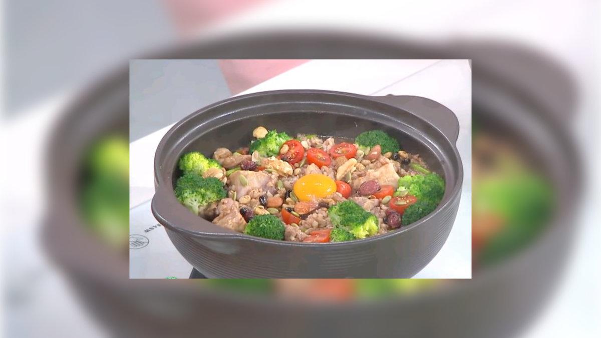 砂鍋糙米雞飯