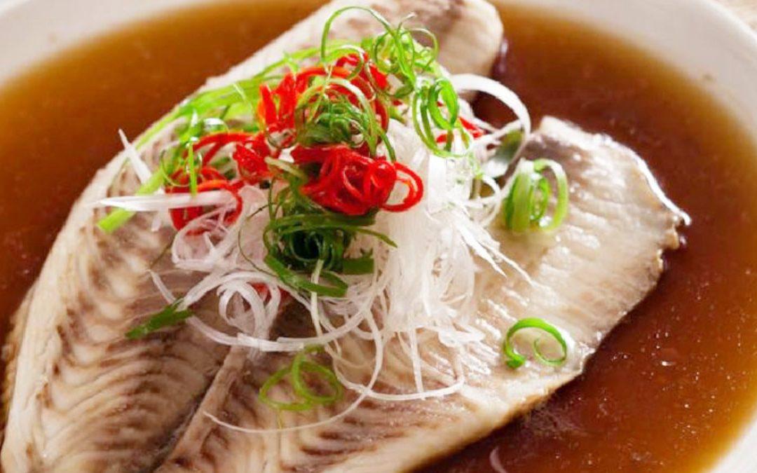 破布子蒸鯛魚排
