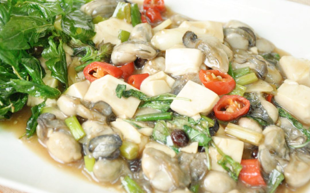 鮮蚵料理 豆豉炒鮮蚵