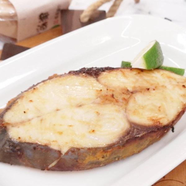 土魠魚料理-氣炸味增土魠魚