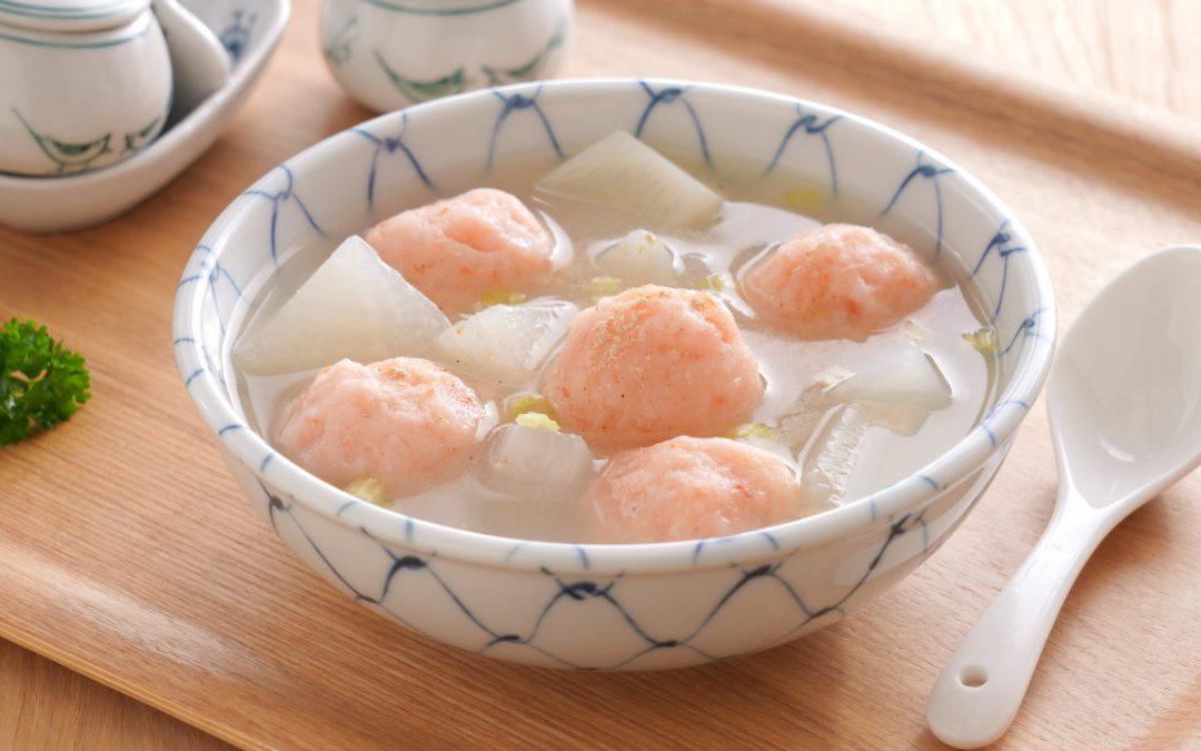 蝦仁丸蘿蔔湯
