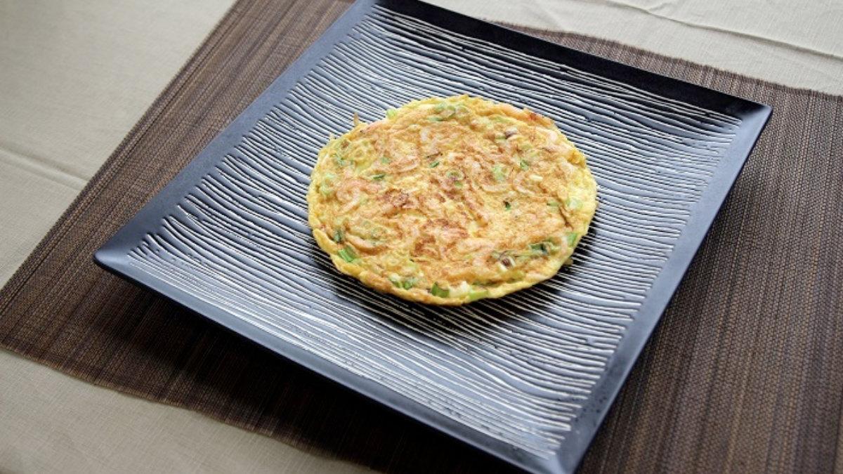 櫻花蝦料理-櫻花蝦煎蛋