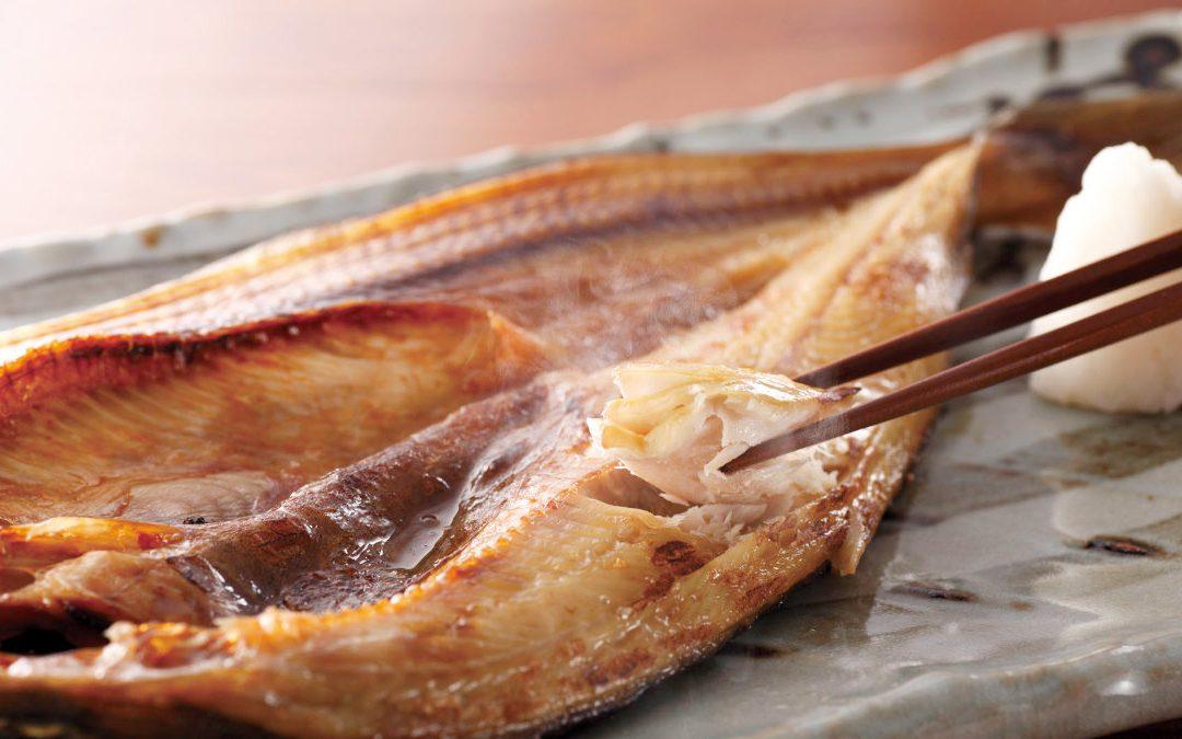 香烤一夜干 – 北海道花魚