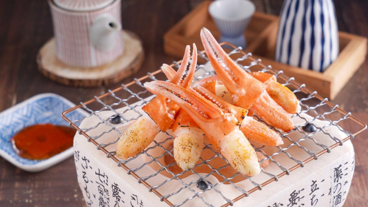 香烤紅鱈蟹鉗