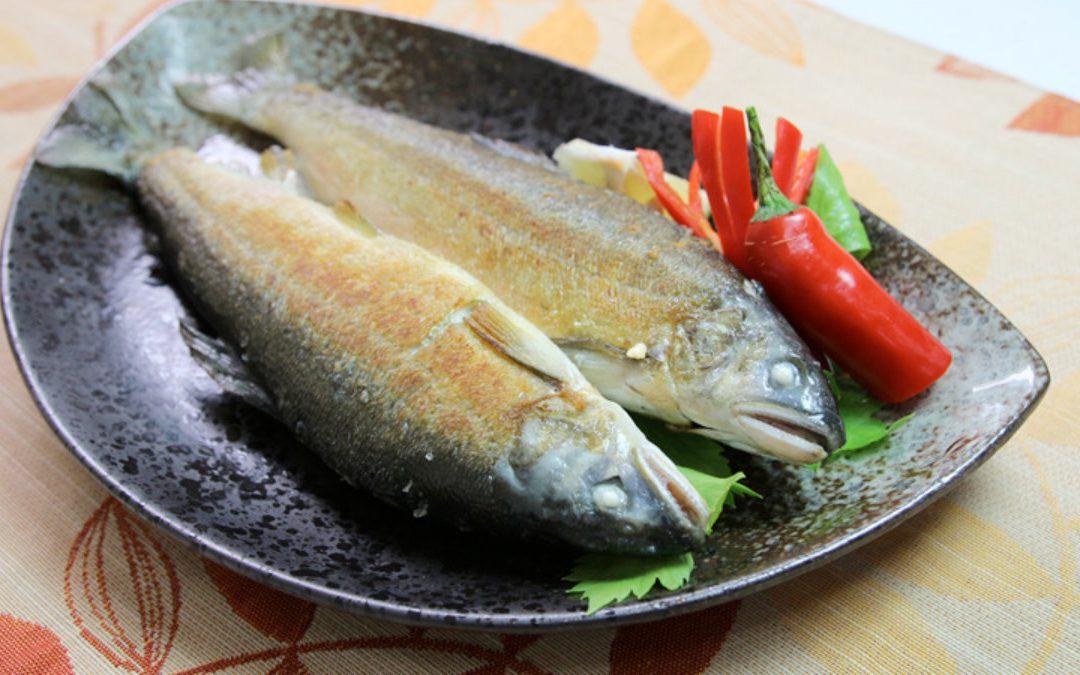 香魚料理 乾煎香魚