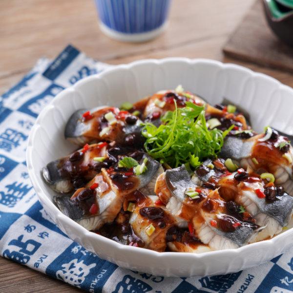 白燒鰻魚-豉汁蒸鰻-食譜-600