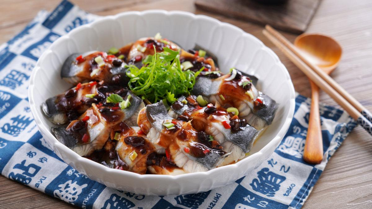 白燒鰻魚-豉汁蒸鰻-食譜
